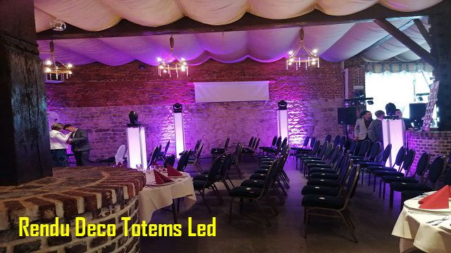 Location de totems led